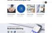6款城市商务房地产网页模板PSD格式