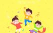 7款六一儿童节插画AI格式