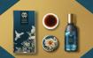 12款中式中国风茶叶白酒包装设计PSD格式