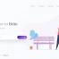 2个企业网站主图设计精品插画素材下载,提供sketch源文件