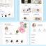 28个漂亮文艺时尚的电子商务适配iPhone 8界面设计素材下载(含Sketch源文件)