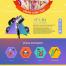 28款web网页模板页面合集餐饮美妆服装电商促销儿童教育主题PSD模板素材