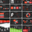 6000页欧美高端PPT模板,20种配色每色300页(包含1000+图标,4比3和16比9两种比例)打包下载