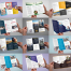 30款简约三折页模板PSD分层素材 -资源大小835MB,包含PSD源文件