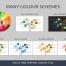 国外简约大气超多数据图表PPT模板WPS演示幻灯片 5种配色方案 -资源大小31.5MB,包含PPT源文件