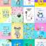 25款夏季海报韩国素材PSD源文件打包下载