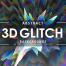 45款三维立体故障特效抽象纹理高清图片素材打包下载