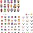 终极英雄&人物插图创作工具包矢量素材下载