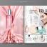 10款化妆品护肤品画册美容杂志产品手册排版EPS矢量设计模板素材