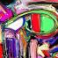 24款毕加索风格现代设计立体主义油画彩色抽象派涂鸦艺术eps矢量素材
