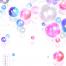 14款浪漫紫色透明彩色气球气泡节日生日宴会婚礼背景海报PSD素材