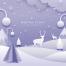 9款冬季剪纸贴画风格海报PSD素材源文件打包下载