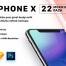 22个优秀的iPhone X模型包Mockups Pack小清新设计素材下载,提供sketch和psd格式的源文件下载