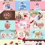 17款七夕520情人节情侣浪漫约会甜品主题海报PSD模板素材 – 资源大小1.24GB,包含PSD源文件