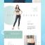 16款夏季购物电商专题网页模板素材PSD源文件打包下载