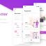 90个时尚粉色钱包app应用优质设计素材下载(提供Sketch格式下载)