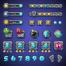 25套精美游戏界面设计模板矢量素材