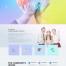 10款科技感地球网页电商界面智能蓝色未来PSD分层设计素材