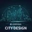 科技粒子城市矢量素材