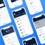 比特币加密和钱包应用iOS UI界面优质设计素材下载