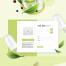11款美女美妆补水巧克力奶茶马卡龙绿叶网页美海报PSD设计素材
