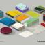 23款精品办公用品文具LOGO名片宣传册品牌VI平面设计贴图样机模版PSD素材4