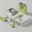 21款精品办公用品文具LOGO名片宣传册品牌VI平面设计贴图样机模版PSD素材2