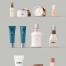 14款护肤品化妆品包装名片VI设计展示贴图样机模板高清摄影图片ps素材