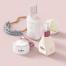11款小清新文艺范护肤品化妆品包装名片VI设计展示贴图样机模板高清摄影图片ps素材