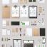 咖啡馆西餐厅奶茶店厨具菜单品牌vi包装展示贴图样机模版设计素材