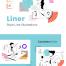 线型插图优质设计素材下载