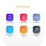 100个时尚潮流完整的2种风格电子商务UI工具包界面设计优质设计素材下载(提供Sketch格式下载)
