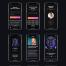 完整的毕业设计现代时尚的UI界面设计优质设计素材下载(提供Sketch格式下载)