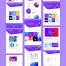 现代简洁创意网站html素材下载