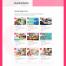 时尚潮流完美的网站设计优质设计素材下载