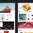 简洁优秀大气的网站设计优质设计素材下载