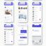 高质量社交网络应用UI工具包优质设计素材下载(提供Sketch和Adobe XD格式下载)
