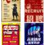 103款创意招聘海报模板广告创意企业公司展宣传单页DM设计PSD分层素材