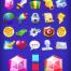 160个游戏图标ui设计素材下载