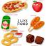 26款餐饮美食点心三明治小点心蛋糕冰棍水果绿叶海报PSD设计素材