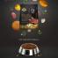 15款狗狗狗粮水果蔬菜气球沐浴露洗澡创意海报PSD设计素材