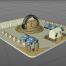 7款低多边形建模渲染C4D工程文件打包下载
