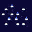 8区块链概念等距插图素描与插画优质设计素材下载
