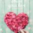 11款浪漫情人节520爱情情侣七夕红桃心海报PSD分层设计素材