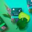 11款高端美妆护肤品化妆品海报模板口红包装盒提案PSD设计素材图