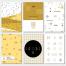 15组孟菲斯风格点线面几何元素模板小清新几何设计模板