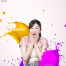 20款多彩渐变烟雾液体颜料粉末油漆泼溅涂抹儿童效果海报PSD模板素材