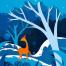 28款唯美麋鹿插图插画剪纸创意海报广告PSD分层设计素材
