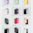 12个iPhone 11和iPhone的矢量模型插图素材下载