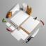10款食品餐饮VI贴图展示样机PSD源文件打包下载